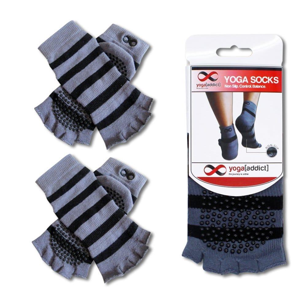 YogaAddict Toeless Yoga Socks